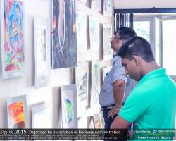 Department of Business Administration chala Ruu 2015 art exhibition (34)
