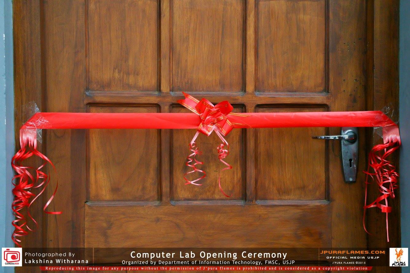 Department Computer Lab Opening Ceremony
