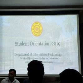 Orientation Program 2018/2019 Batch