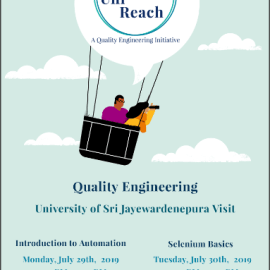 Quality Engineering Session from Pearson Uni Reach