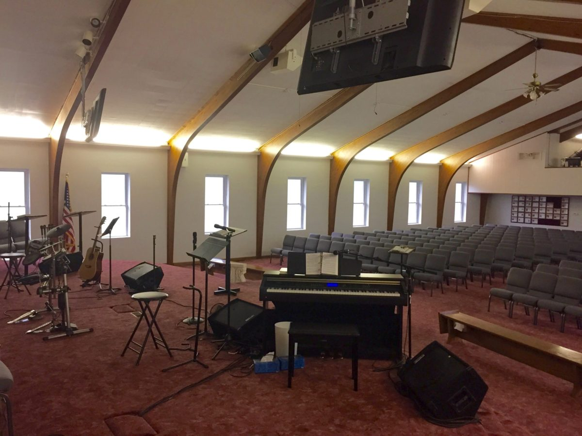 Church Uses Window Film to Reduce Glare in the Sanctuary