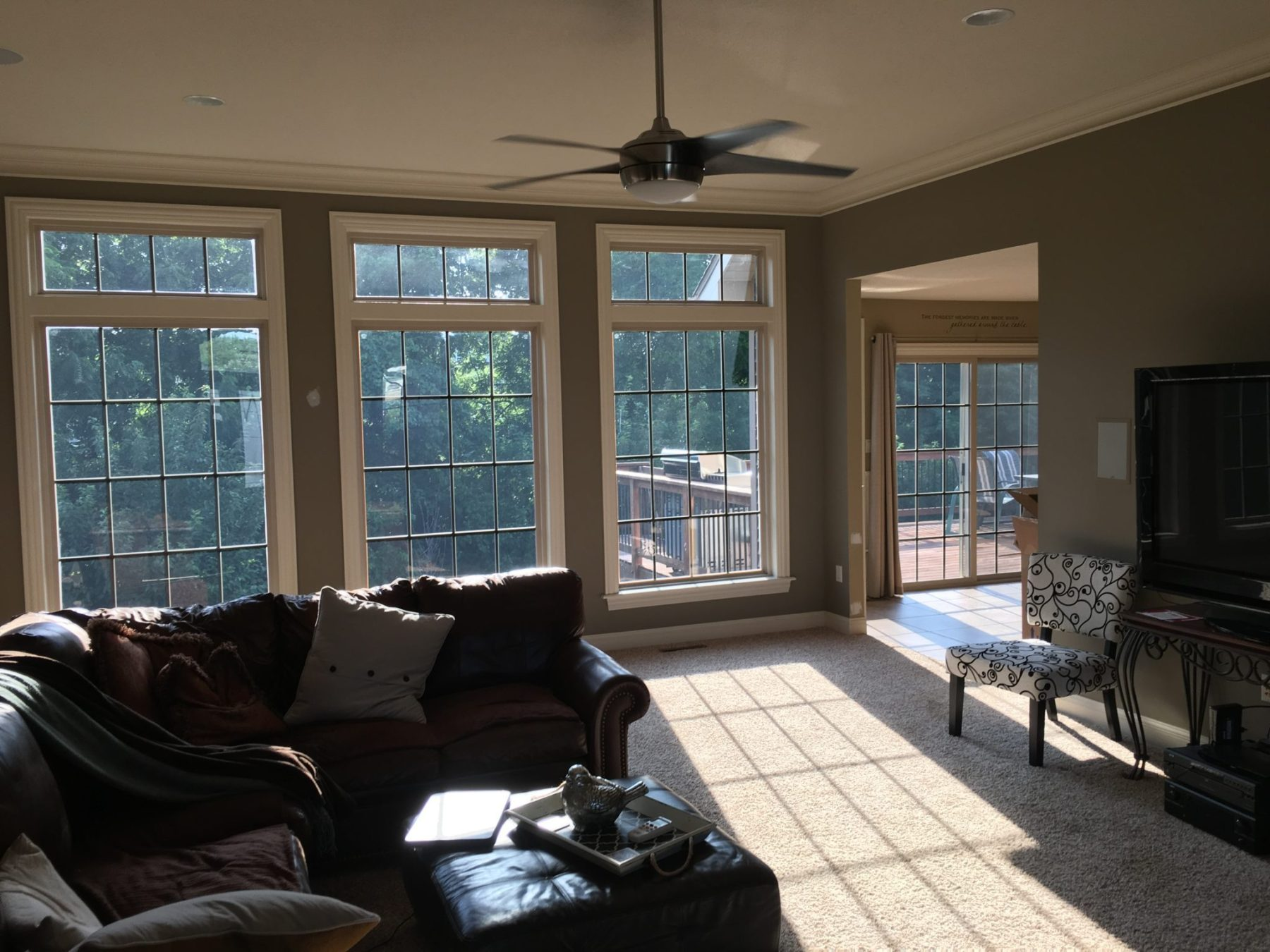 Heat, Glare and Privacy Addressed in this Home Improvement