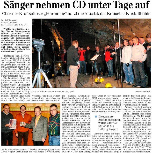 20_12_2008_Saenger_nehmen_CD_unter_Tage_auf
