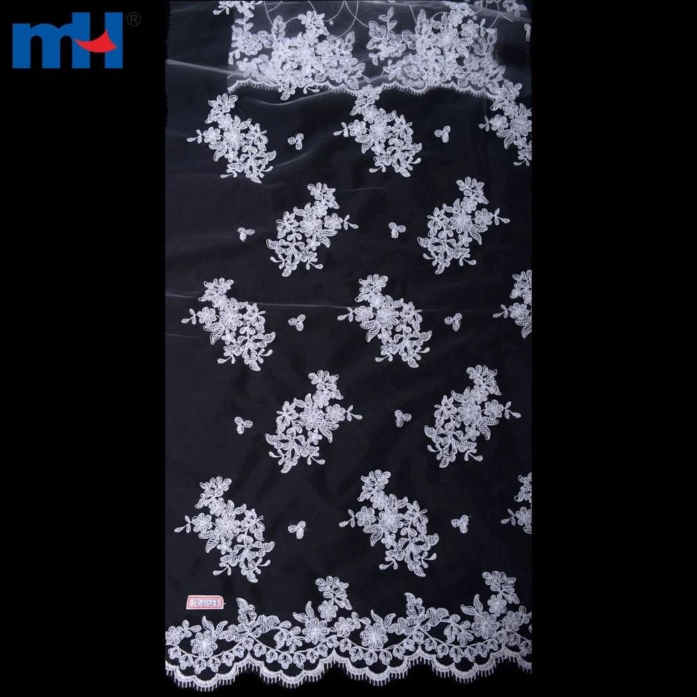 Organza Wedding Gown Lace Fabric