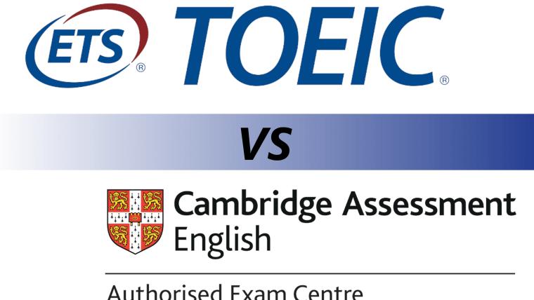 TOEIC ou Cambridge ?