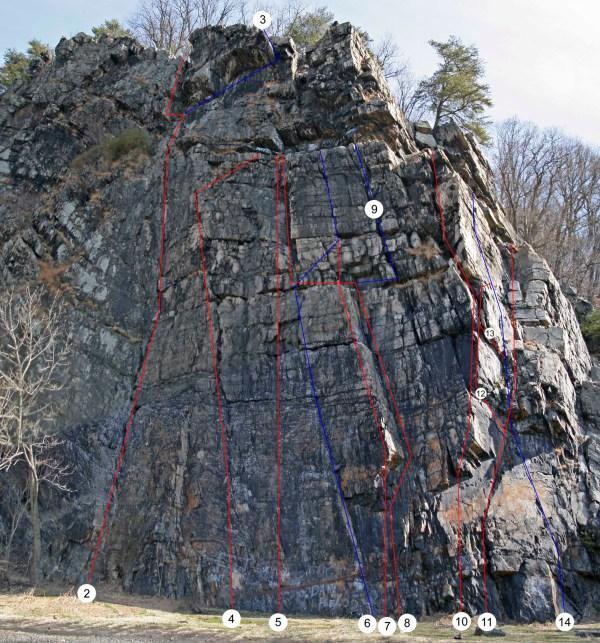 Chickies Rock Park Rock Climbing