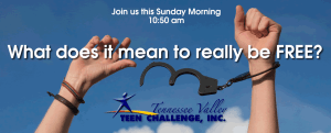 Teen Challenge Sunday