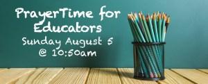 PrayerTime for Educators