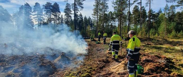 Meget vellykket skogbrannkurs i september