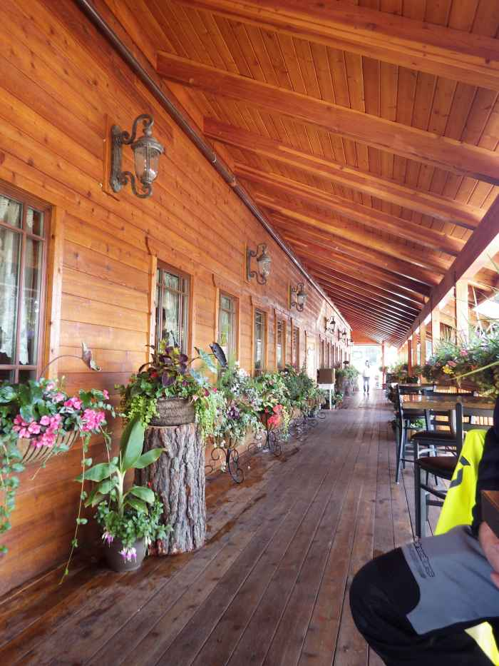 Pancake House in McCall ID. Off track but worth the detour.