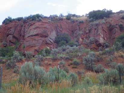 The red rock of Utah.