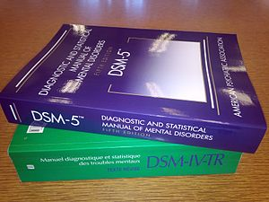 image of two volumes of DSM