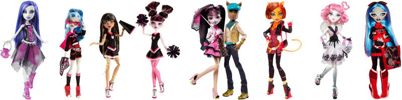 2badf38aa03 Monster High Dolls released in 2011 - MHcollector.com