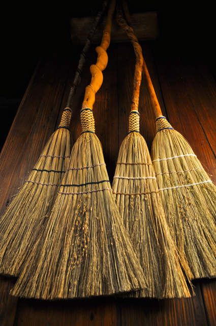 BROOMS FROM THE GROUND UP at Mountain Heritage Handcraft