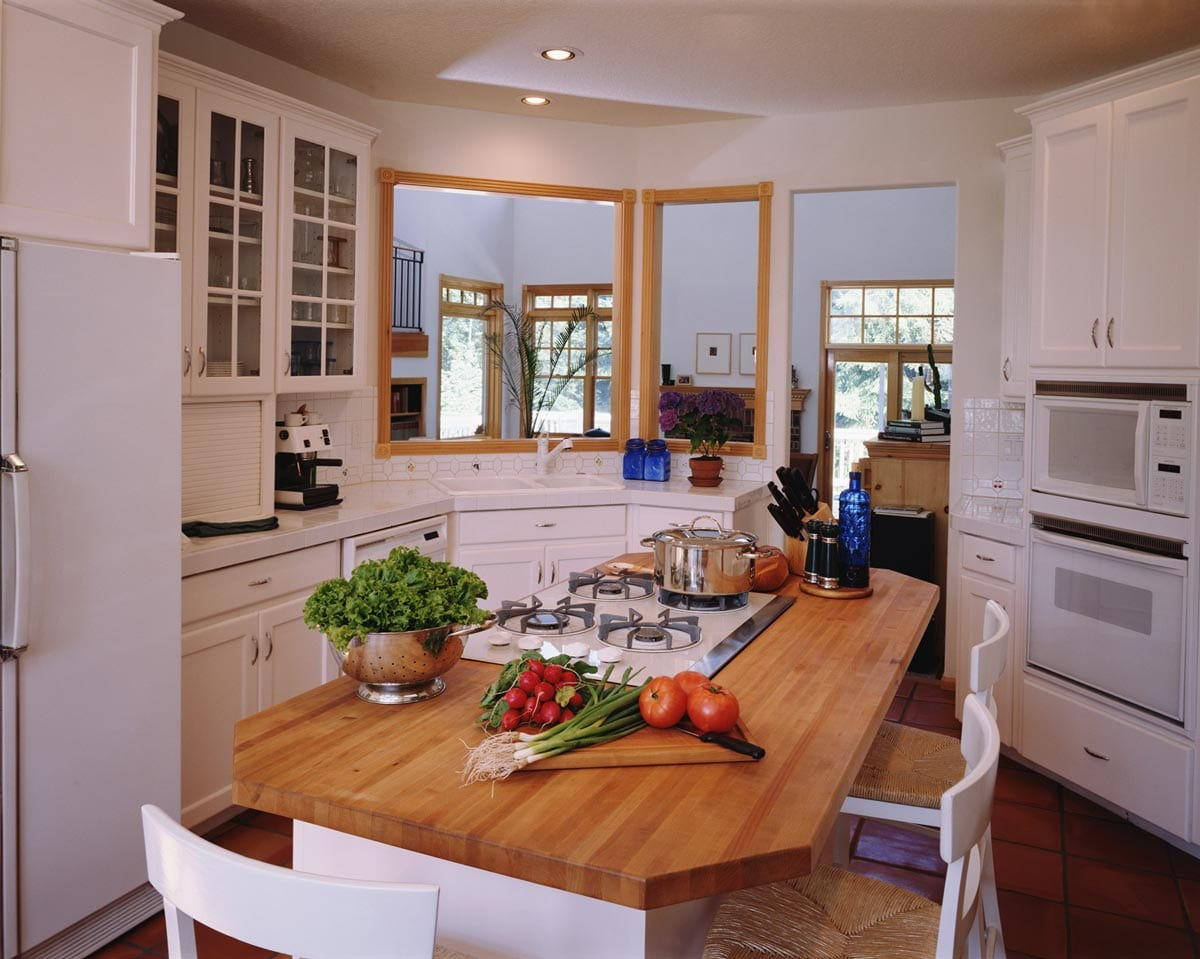 evolution of open concept kitchen design | mother hubbard's