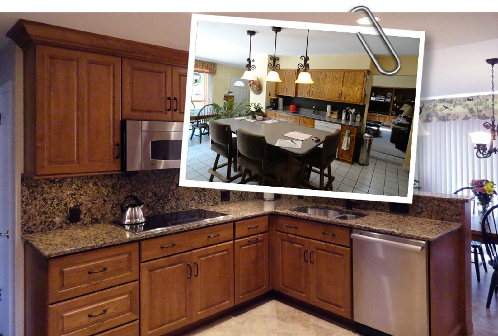 kitchen cabinet cost home depot kohler faucet camp hill 80's renewed - mother hubbard's custom ...