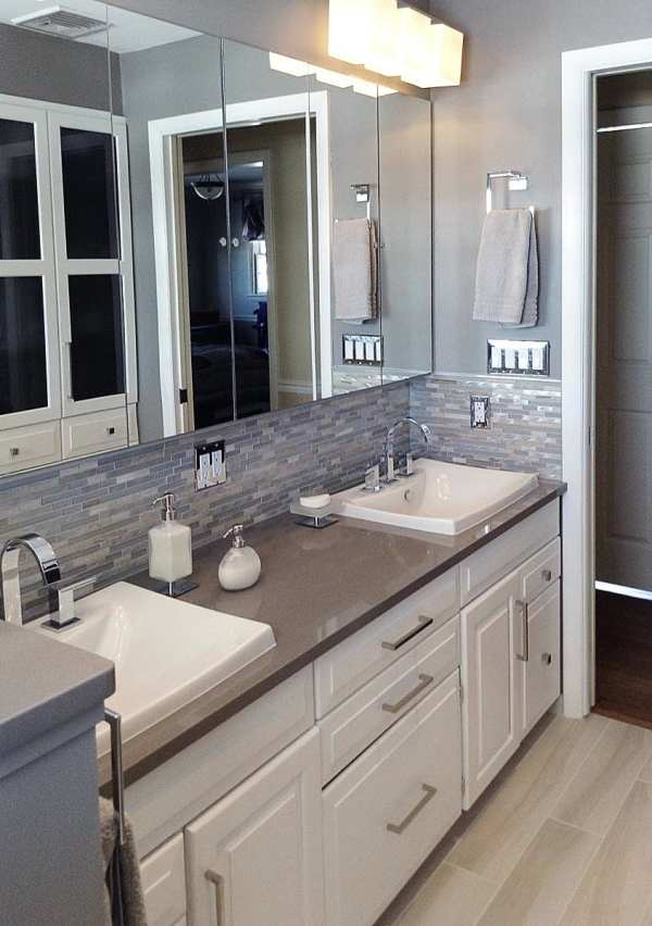 Loysville Transitional Bathroom Remodel - Mother Hubbard'