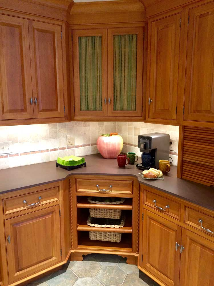 kitchen corner cabinet mission style cabinets 5 solutions for your storage needs