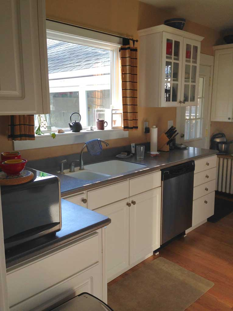 kitchen cabinet doors only storage bins camp hill 1930's colonial remodel - mother hubbard ...