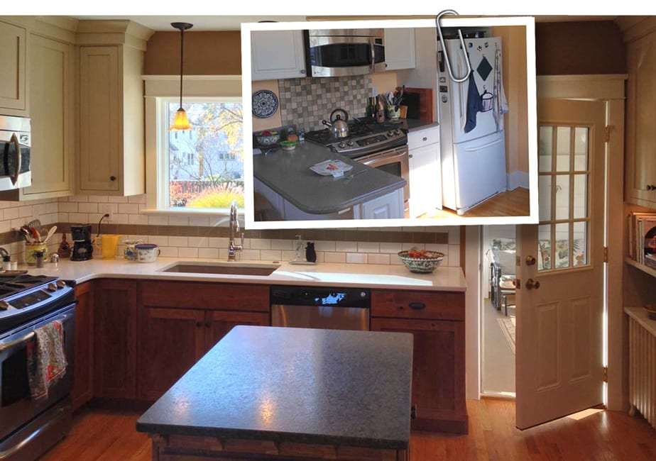 kitchen remodeling projects green egg project gallery harrisburg pa camp hill 1930 s colonial remodel
