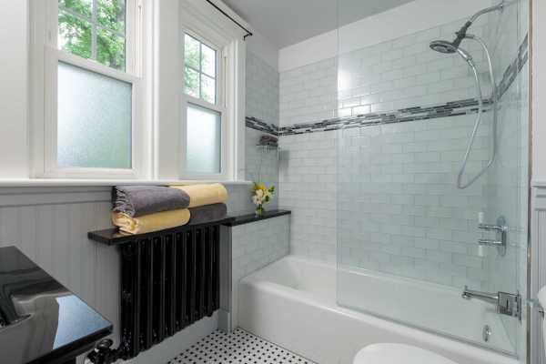 Camp Hill Pa Traditional Bathroom Renovation - Mother Hubbard' Custom Cabinetry