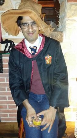 He's...Gryffindor!