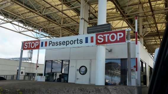 Passing border control