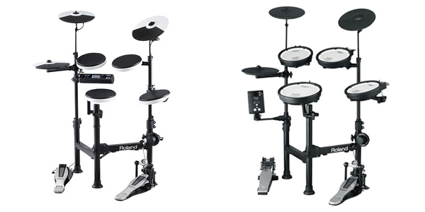 Roland V-Drums Portableシリーズ「TD-4KP-S」と「TD-1KPX-S」比べてみました