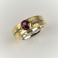 18ct gold and silver with spinel (£680)