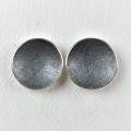 silver, part oxidised studs (£58)