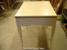 Parchment Games Table