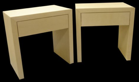 Parchment Night Tables