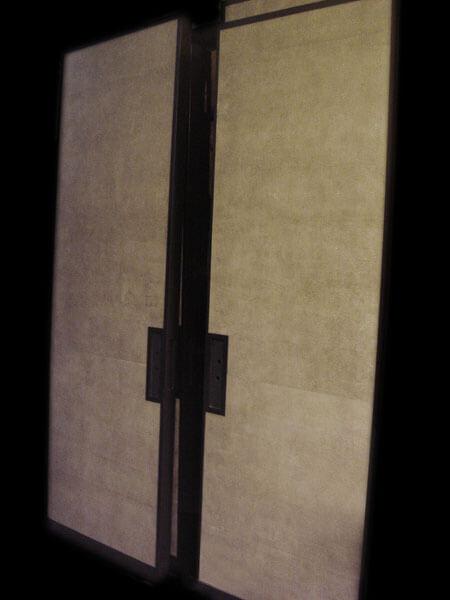Shagreen Leather Doors