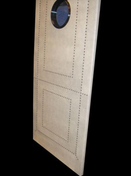 Shagreen Leather Portal Door 1