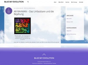 Blue Sky Evolution (BS.E) von Ulf Krause