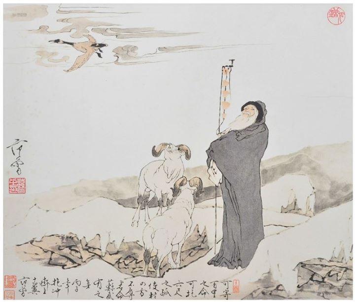 《生別離・永別離》–感於蘇武 – 墨華鎏歌