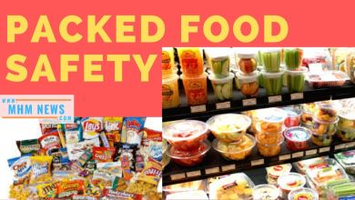Photo of packed food safety