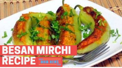 Photo of Besan Mirchi Recipe in Hindi