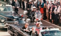 JFK blown away: President John F. Kennedy is assassinated on November 22 while riding in an open convertible through Dallas.