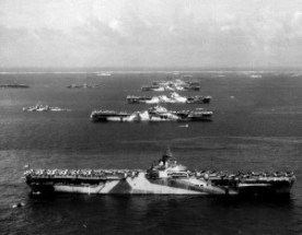 Murderers Row US Aircraft Carriers of Task Force 58