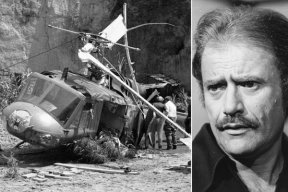 """Vic Morrow: Morrow was killed along with two child actors Myca Dinh Le and Renee Chen in July 1982 when the helicopter they were in crashed during the filming of """"Twilight Zone:The Movie"""". Vic was decapitated and the child actors died on the scene."""