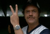 Actor Vic Morrow in The Bad News Bears
