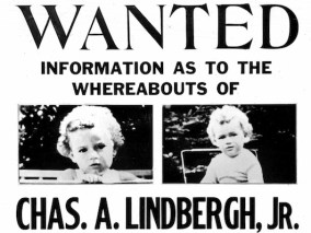 3/13/1932 - The circular requesting information about the kidnaped Charles A. Lindbergh, Jr.,