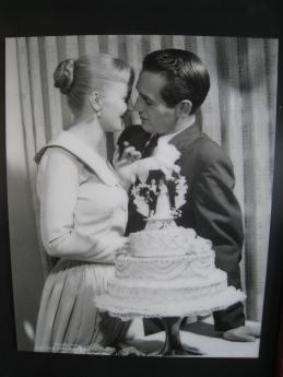 Paul Newman and Joan Woodward, El Rancho Vegas, 1958