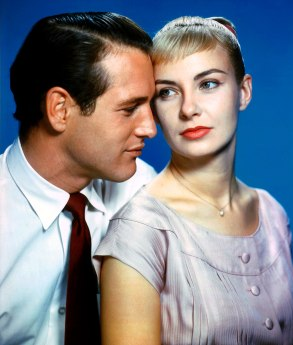 Publicity portrait for the film, featuring Paul Newman and Joanne Woodward