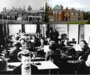 Bletchley Park, then and now and the women who worked there.