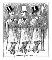 George du Maurier cartoons from Punch