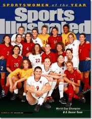 1999 USWNT World Cup Champions (Sports Illustrated)