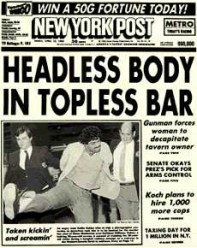 """NYPost"" by Source. Licensed under Fair use via Wikipedia - https://en.wikipedia.org/wiki/File:NYPost.jpg#/media/File:NYPost.jpg"