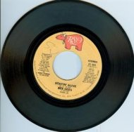 Stayin' Alive / If I Can't Have You 7-inch single, 45 RPM record (1977, USA, RSO, RS-885) by the Bee Gees.